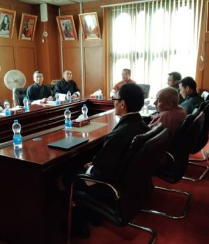 Consultation with Management led by CEO, Royal Insurance Corporation of Bhutan Ltd
